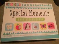 Brand new babytown baby milestone cards