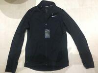 Nike men's Running Jacket Black, Size S