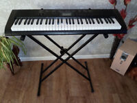 Casio CTK-1150 Keyboard and stand Excellent Condition