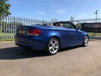 BMW 2.0 118i SE 2dr Automatic Convertible --- Leather -- Low Millage - Rear Sensors
