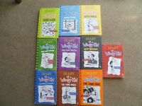 Diary of a Wimpy Kid collection - great series of books age 8+