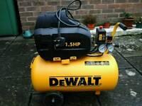 DeWalt Air compressor 24 litre 240v