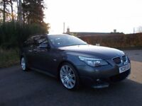 2009 09 BMW 525D M-SPORT BUSINESS EDITION TOURING ESTATE AUTO CALL 07908275624