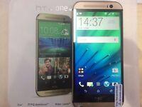 HTC M8 GOLD LIKE NEW/ UNLOCKED / 16 GB / VISIT MY SHOP/ GRADE A. / 1 YEAR WARRANTY + RECEIPT