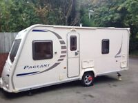 Bailey Pageant Series 7 Bordeaux 2009 inc Motor Movers - Price dropped