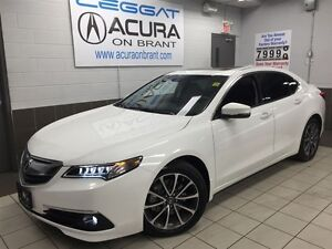 2016 Acura TLX TECH | ONLY14000KMS | OFFLEASE | NAVI | FOGLIGHTS