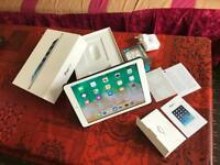 Apple iPad Air 1st gen massive 128GB 4G UNLOCKED mint 10/10 condition boxed case no offers