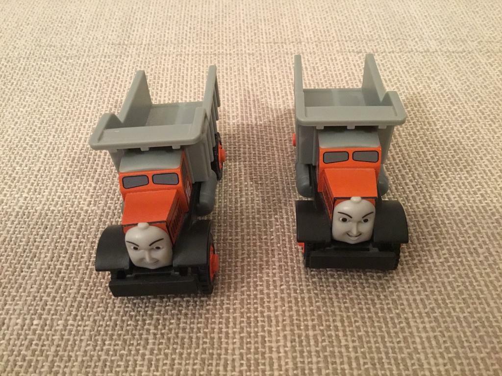 Thomas Wooden Trains Max Monty Trucks Rare In Eynsham Oxfordshire Gumtree