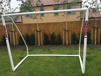 Samba football goal - hardly used; net still in packaging