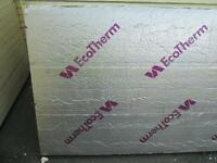 Insulation board 75mm 1.2mX2.4m Packed New