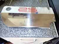 Ford Fiesta engine cover of a mk5/6 st 150. stainless steel. good condition