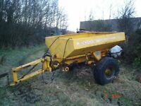 Fertiliser Spreader 2.8 ton Econ Fertispread
