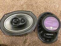 JL Audio 6x9 Speakers *C2-690TX* (6 Months Old RRP £230)