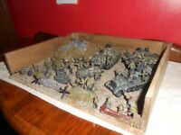 1960s airfix productions ww2 military models diorama collectible
