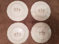 Chelsea manor fine bone china 4 side plates