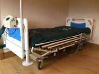 Hospital bed pressure mattress and monkey bar *price reduced - need gone ASAP*