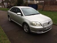 Toyota Avensis 1.8 VVT-i T3-X 5dr, 6 MONTHS FREE WARRANTY, FULL SERVICE HISTORY