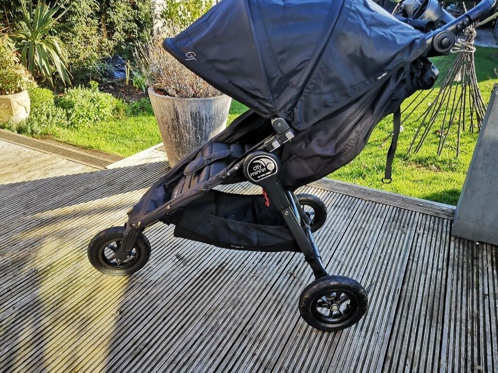 Baby Jogger City Mini GT (off-road) buggy BLACK GREAT ...