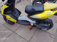 aprilia 49cc moped