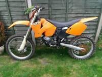Ktm sx 125cc spares or repairs