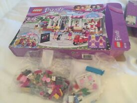 Lego friends sets and tsum tsum clock tower