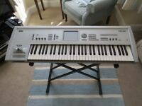 Korg Triton Classic Keyboard 61 key with EXB PCM01 card and Thon hard case