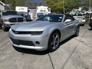 2014 Chevrolet Camaro LT V6, RS Package, Convertible