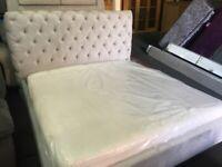 NEW - EX DISPLAY BEDS, MATTRESSES, HEADBORADS, SEALY, iGEL, SILENTNIGHT, STAPLES BESPOKE