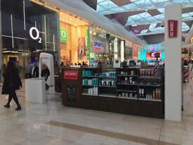 Free haircut for Men in Westfield shopping centre