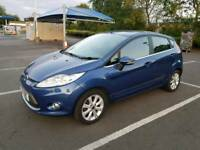 Ford Fiesta1.25 Zetec 5dr Manual Full Dealers Service 1 Keeper