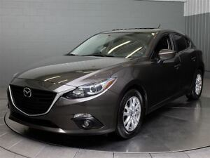 2014 Mazda MAZDA3 SPORT GS HATCH SKYACTIVE A\C MAGS TOIT
