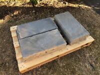 600mm x 300mm paving slabs - Rutland Winter Stone