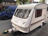 Elddis 2 berth caravan 1992