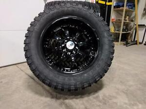 "BRAND NEW 24"" RIM/TIRE COMBO!! 40"" TIRES!! HUMMER H2 Dodge RAM 2500/3500 CHEVY/GMC 2500/3500"