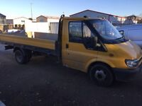 Ford transit Dropside. Spares or repair. export