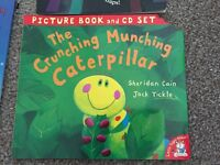The Crunching Munching Caterpillar with CD