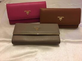 leather prada purses