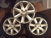 Alloy wheels from Peugeot 207 x 3