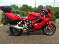 DUCATI ST4 SPORTS TOURER WITH DUCATI LUGGAGE INCLUDED