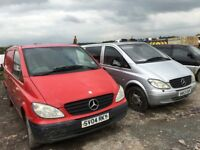 Mercedes Benz Vito spare parts available