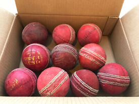 9 Used Cricket Balls - CAN POST 2U