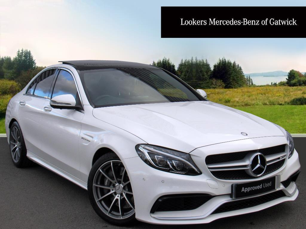 mercedes benz c class amg c 63 premium white 2017 03 22 in crawley west sussex gumtree. Black Bedroom Furniture Sets. Home Design Ideas