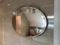 Bathroom Designer Mirror with Lights