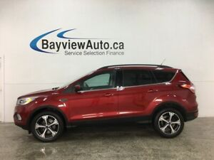 2018 Ford Escape Sel 4wd Sync Nav Panoroof Htd Leather
