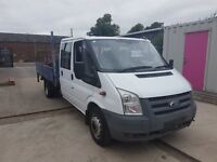 FORD TRANSIT TIPPER 100 T350EF D/C RW 2006REG FOR SALE