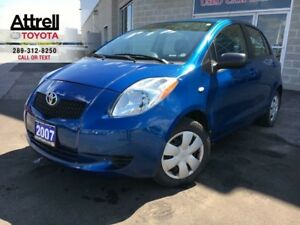 2007 Toyota YARIS LE HATCHBACK, ABS, POWER GROUP, KEYLESS ENTRY
