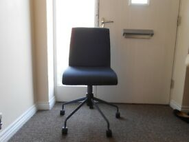 M&S Newson office chair denim blue as new RRP £99