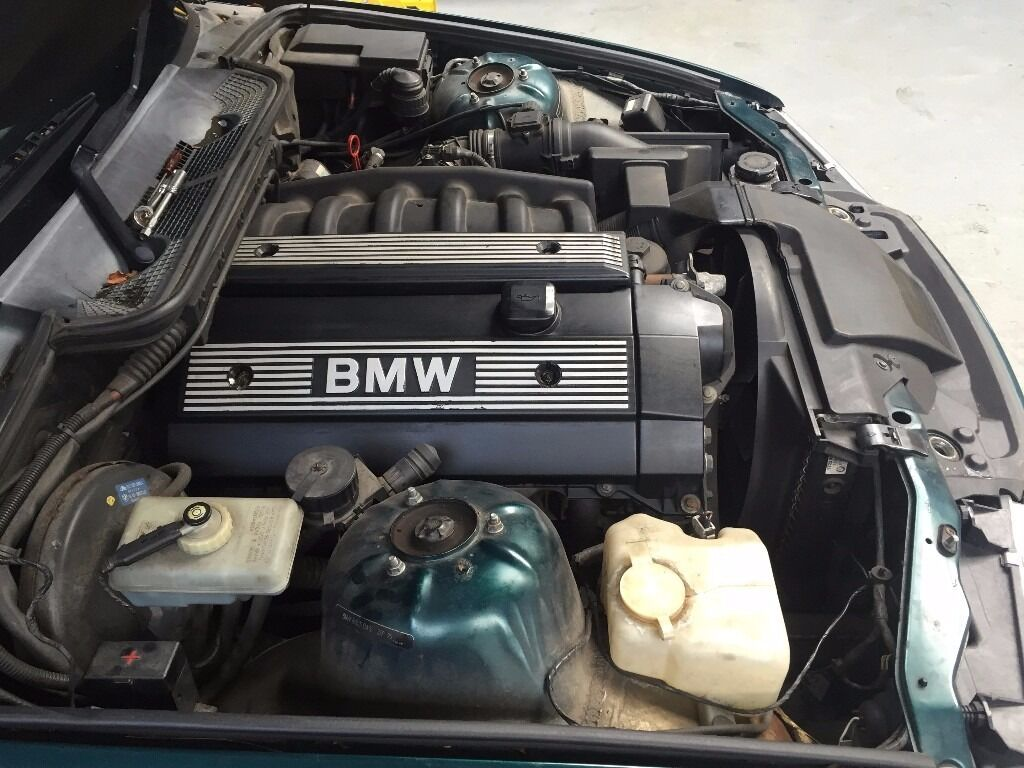 bmw e36 3 series 328i 6 cyl 190bhp engine m52b28 2 8 engine only in livingston west. Black Bedroom Furniture Sets. Home Design Ideas
