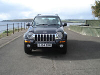 JEEP CHEROKEE LIMITED EDITION V6 AUTO 12 MONTHS MOT