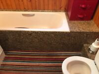 Roca bathroom suite (complete) and marble - can deliver